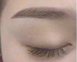 纹眉毛多少钱